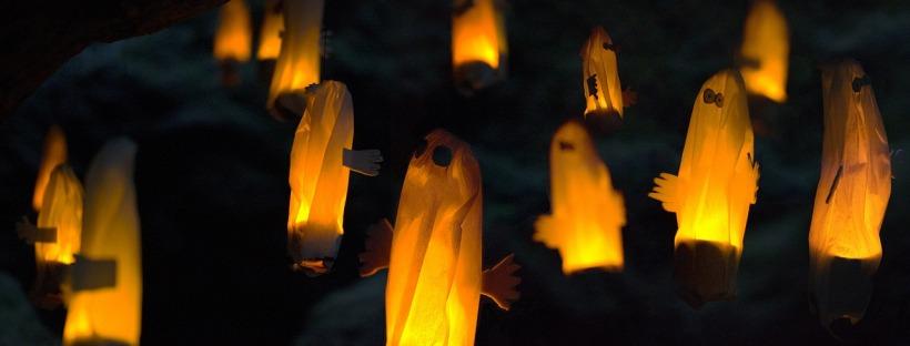Petits fantômes lumineux